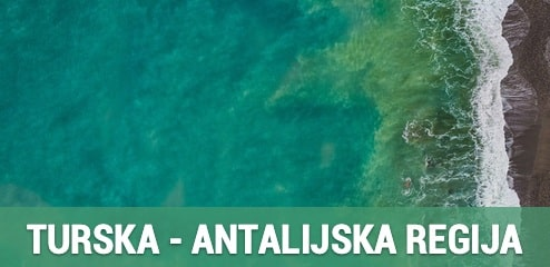 Turska -  Antalijski regija